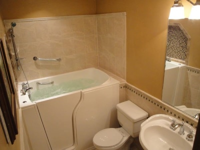Independent Home Products, LLC installs hydrotherapy walk in tubs in Grandin